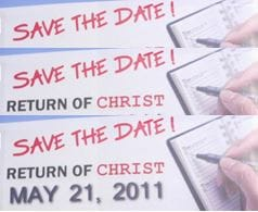 Is Jesus Returning May 21st, 2011?