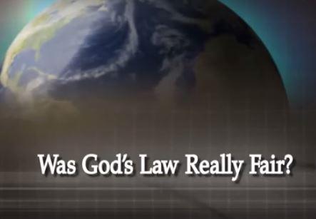 Was God's Law Really Fair?
