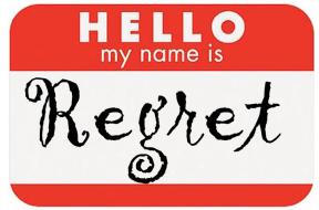 sticker for regrets