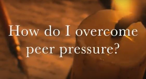 VIDEO: Moments that Matter – How Do I Overcome Peer Pressure?