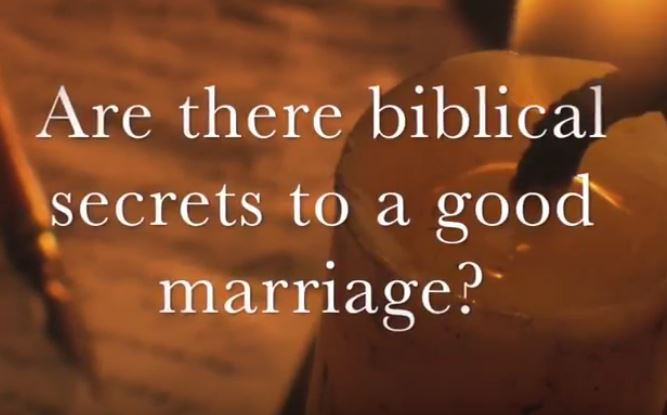 VIDEO: Moments that Matter – Are There Biblical Secrets to a Good Marriage?