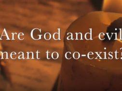 Title slide for God and Evil