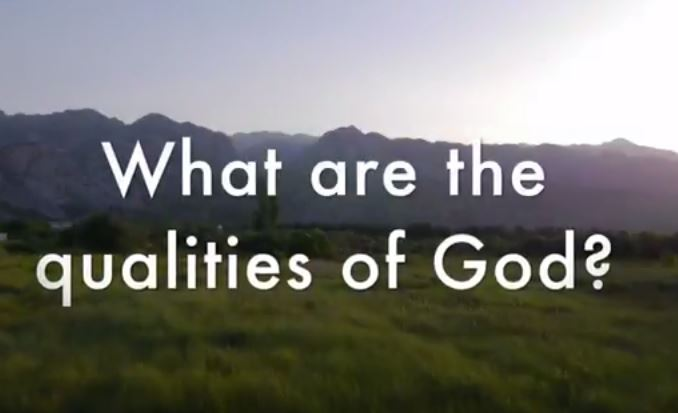 VIDEO: Bible 101 – CQ What Are the Qualities of God?