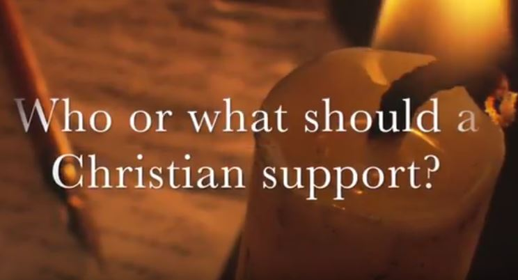 VIDEO: Moments that Matter – Who and What Should a Christian Support?