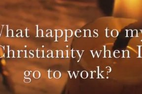 what happens to my Christianity at work