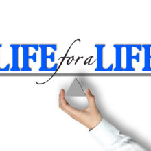 life for a life - Jesus died for all