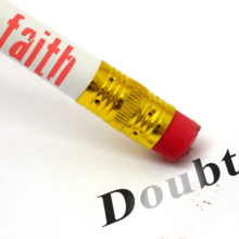 faith erasing doubt