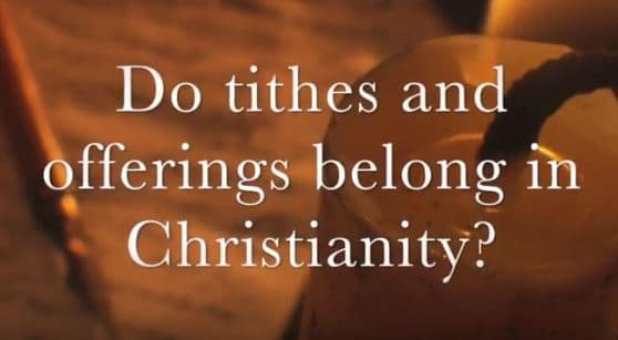VIDEO: Moments that Matter – Do Tithes and Offerings Belong in Christianity?