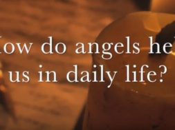 How do angels help us in daily life?