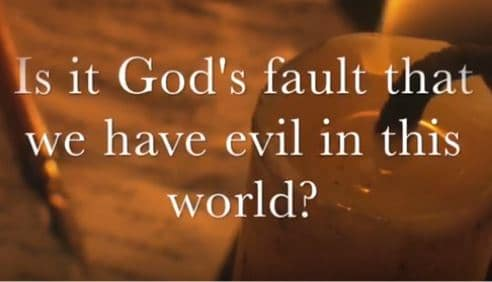 VIDEO: Moments that Matter – Is it God's Fault We Have Evil in This World?