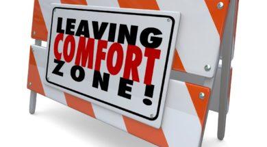 too comfortable - comfort zone
