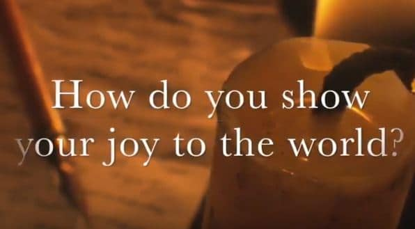 VIDEO: Moments that Matter – How Do You Show Your Joy to the World?