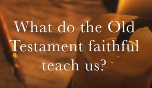 VIDEO: Moments that Matter – What Do the Faithful Old Testament Characters Teach Us?