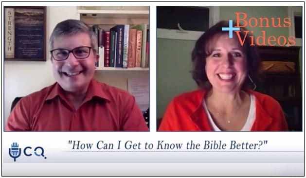 VIDEO: Bonus – How Can I Get to Know the Bible Better?