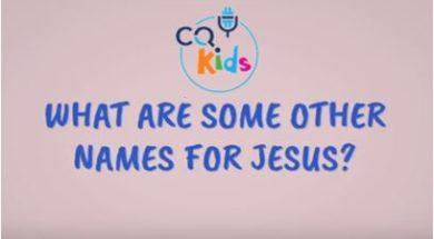 kids names for Jesus
