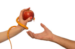 Metaphor of the symbolism of Adam and Eve 004
