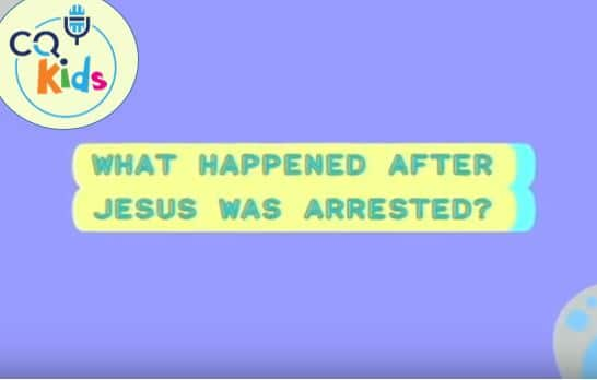 kids Jesus arrested