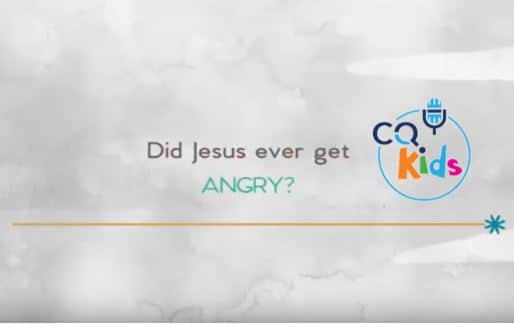 kids Jesus angry
