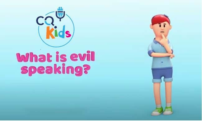 kids evil speaking