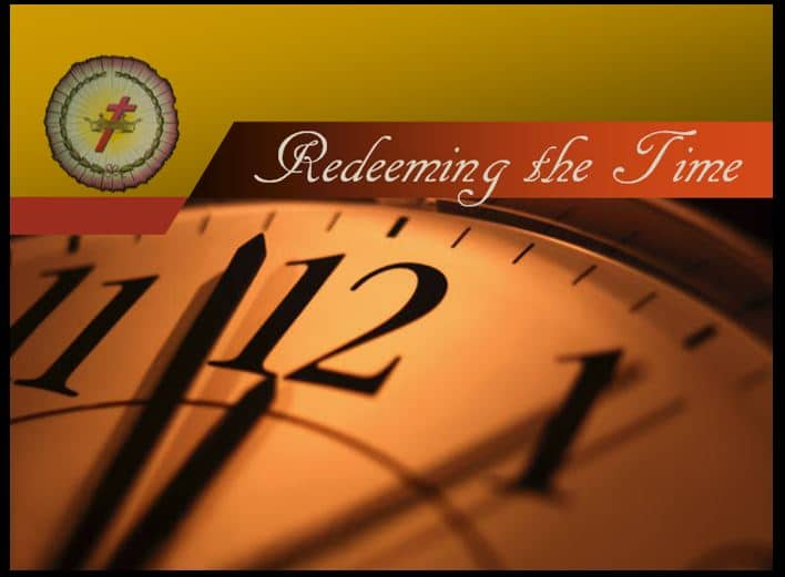 redeeming the time theme