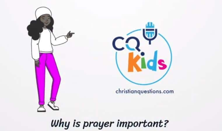 kids why prayer important
