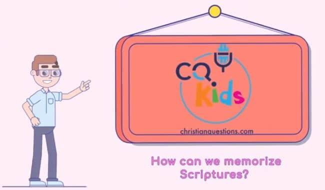 kids memorize scriptures