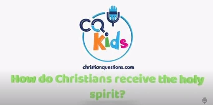 kids holy spirit how to receive