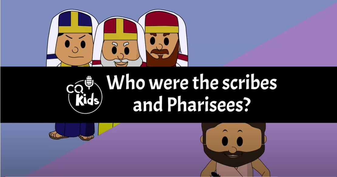 kids scribes and pharisees