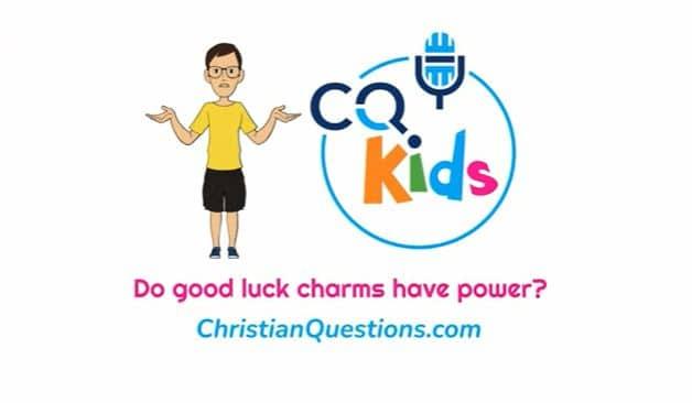 Kids good luck charms